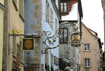 Christmas time in Rothenburg ob der Tauber, Germany / A Christmas fairytale in Rothenburg ob der Tauber, Germany