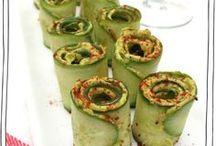 Avocado / Avocado & cucumber rolls
