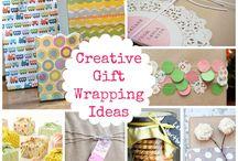 Wrapping / Inpakken / Een heel leuk cadeau maken