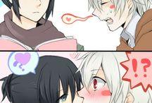 Shion and Nezumi <3