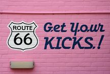 ROUTE  66 / by Jackie Walmer