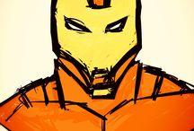 My inspiration / Me: superhero