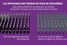 Afghanistan : Violences faites aux femmes  / Le danger pèsera sur les Afghanes tant que les hommes représenteront 99 % des forces de police nationale.