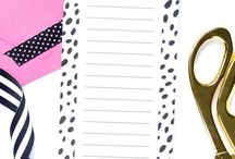Get Organized!  Tips + Products