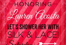 Jennifer's Lingerie Shower