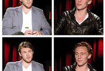 Chris and Tom - Thor and Loki