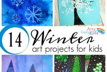 Winter Literacy / Reading and writing activities for the early grades