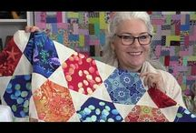 Easy quick hexie quilt!!! Must try