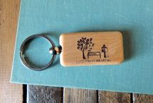 Library Accessories We Sell / Want to deck out your Little Free Library in style? We've got everything from 100-year-old barn wood signage to tree ring coasters to outreach kits.  / by Little Free Library