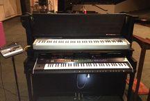 Fake pianos / pianoforti vuoti
