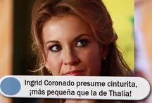 Ingrid Coronado presume cinturita, ¡más pequeña que la de Thalía!