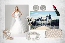 the GLAMOUR wedding / For the girl with glamorous style