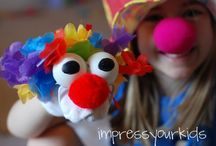 Circus / Fun circus themed parties, activities for kids, prints, homeschool ideas and more!