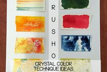 Stampin' Up! - Brusho Crystal Color