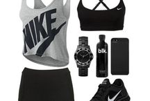Work out gear / by Kat