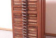 vintage office furniture