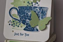 Cards - SU Tea & coffee