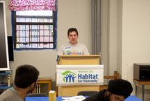 """Habitat-NYC's """"Building on a Dream"""" MLK Weekend of Service / Habitat-NYC hosted its 14th Annual """"Building on a Dream"""" Martin Luther King Jr. Weekend of Service. Volunteers from faith groups across the city helped Habitat-NYC paint the Lillian Ward Senior Center on the Lower East side. Thanks to everyone who participated! / by Habitat for Humanity New York City"""