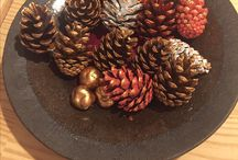 Weihnachten Tannenzapfen