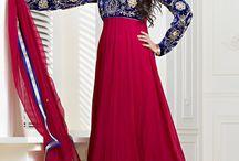 Long Length Anarkali Salwar Kameez Online / Buy all latest Long anarkali suit in all types of fabrics like cotton salwars,net shalwar kameez,georgette salwar over 200 Designs and get Delivered to your Home.For more collections http://www.chennaistore.com/salwar-kameez/Long-Length-Anarkali-Salwar-Suits