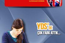 Yds kursları / yabancı dil seviye tespit sınavına (YDS) hazırlanmak isteyen öğrenciler için hedef puan odaklı Yds grupları British Street şubelerinde.