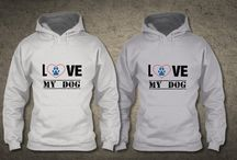 I LOVE MY DOG / The perfect Valentine's Day gift! For dog lovers.  Get one for yourself & share it with your friends.
