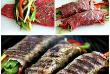 Balsamic Glazed Vegetable Steak Rolls