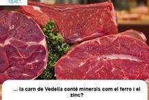 Vedella / Ternera  / Aquí trobaràs curiositats sobre la carn de vedella  / Aquí encontrarás curiosidades sobre la carne de ternera
