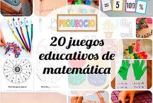 1.2 Matemática / Matemática, lógica, geometría, percepción visual, atención, lateralidad, medición (hora)