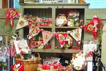 christmas in the country idea bord ♥