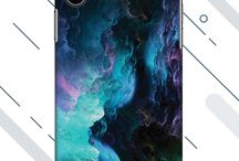 iPhone X Starry Back Covers / If you love simple designs fondly and love how the universe can align on your phone then these covers are perfect for you. Suit up your iPhone X with the starry covers.