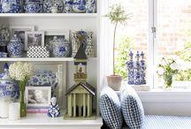 blue & white / by Lynn Terry