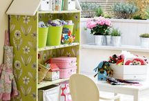 DESIGN | Play room / Inspiration for our girls' play room