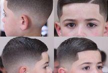 Cortes de pelo del niño