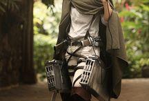 Levi ackerman cosplay