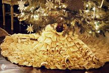 Diy tree skirt I want to try