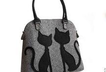 Amanti dei gatti / borse
