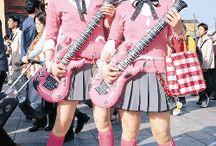 Japanese Street Fashion / Harajuku Girls / by Marni Dad