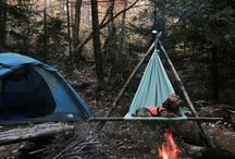 She Camps. / Camp out under the stars just once. There's nothing like it.