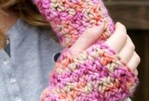 Guantes al crochet