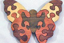 бабочки пазл