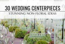 wedding non floral centerpieces