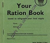 WWII Food Rationing