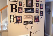 wall decor with pictures