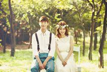 Outfit prewed korea