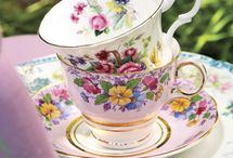 tea cups / by Tracey Townsend