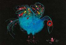 Illustraties kinderboeken & sprookjes / Mooie tekeningen en illustraties uit kinderboeken, prentenboeken etc / by Hedwig Brünemann