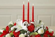 composizioni floreali natalizie