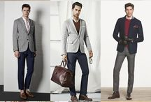 Gray Blazer Men