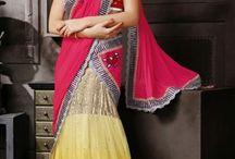 Designer Silk Saree Collections / Latest Design Sarees Collection - FashionFemina.com